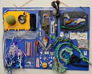 "Naturescape Gallery presents ""Beach Trash"" by artist Suzanna Nickerson"