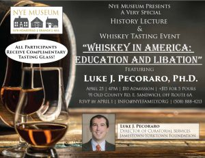 Whiskey in America: Education and Libation