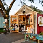 Hyannis HyArts Artist Shanties-Two Locations