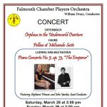 Falmouth Chamber Players Orchestra Concert Postponed