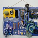 Reception for Beach Trash By artist Suzanna Nickerson
