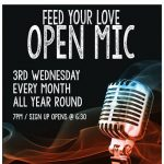 Feed Your Love Open Mic