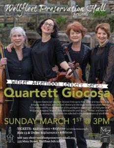 Afternoon Concert Series: Quartett Giocosa