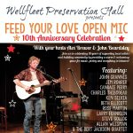 Feed Your Love Open Mic 10th Anniversary Celebration