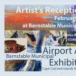 Barnstable Muncipal Airport Art Exhibit V Artist's Reception