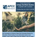 Building Rain Gardens with the Association to Preserve Cape Cod