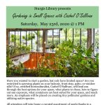 Gardening in Small Spaces with Cashel O'Sullivan