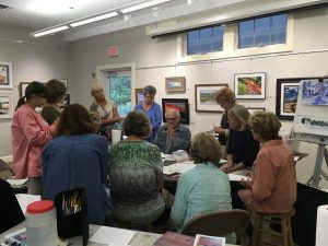 Online Class: All Levels Watercolor Class (9:30am Session) with Andrew Kusmin