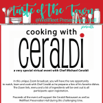 Cooking with Ceraldi - A Very Special Virtual Event with Chef Michael Ceraldi