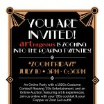 ARTrageous Online Gala Event: Zooming into the Twenties!
