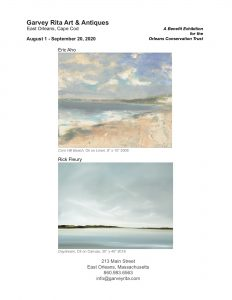 Eric Aho and Rick Fleury: A Benefit Exhibition for the Orleans Conservation Trust