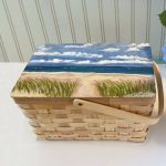 "LET'S PICNIC!"" AN ONLINE PAINTED PICNIC BASKET AUCTION"