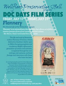 Doc Days Film Series: Flannery