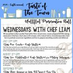 Wednesdays with Chef Liam