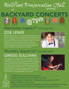 Backyard Concerts: Zoe Lewis
