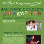 Backyard Events: Gregg Sullivan
