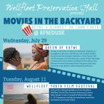 Free Movies in the Backyard: Wellfleet Youth Film Festival