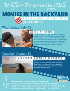 Free Movies in the Backyard: Wellfleet Youth Film ...