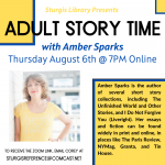 Online Adult Story Time with Amber Sparks