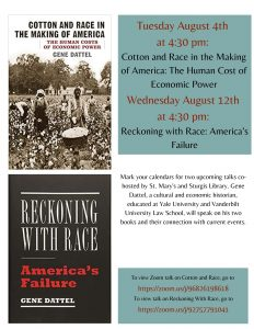 Cotton and Race in the Making of America: The Human Cost of Economic Power