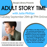Online Adult Story Time with Julia Phillips