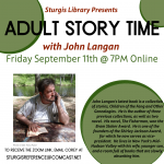 Online Adult Story Time with John Langan