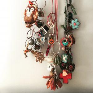 ONLINE WORKSHOP: Fiber Art Jewelry with Jodi Colella