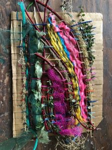 ONLINE WORKSHOP: Weaving Without a Loom with Jodi Colella