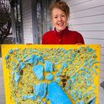 "Naturescape Gallery presents ""Beach Trash"" by artist Suzanna Nickerson"
