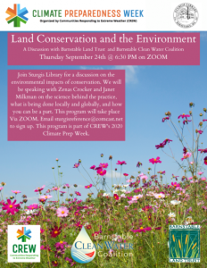 Land Conservation and the Environment