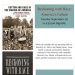 Reckoning with Race: America's Failure, An Online Talk with Gene Dattel