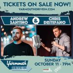 Andrew Santino and Chris Distefano