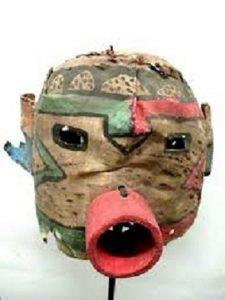 Online Art Talk: Masks: Imagining & Connecting with Dr. Sandy Faiman-Silva