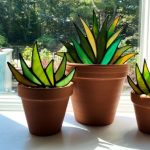Stained Glass Agave Plants workshop with Neil Maciejewski