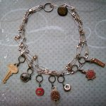 Jewelry from Mixed Materials: Pendants and Brooche...