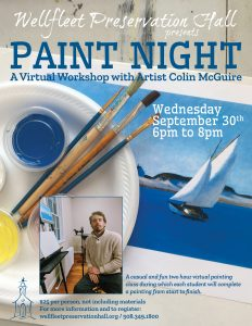 Paint Night with Colin McGuire: A Virtual Workshop