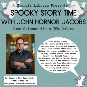 Spooky Online Adult Story Time with John Hornor Ja...