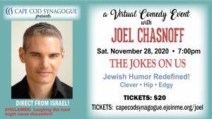Joel Chasnoff- DIRECT FROM ISRAEL- Virtual Jewish ...