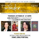 Craft Conversation with Ann Patchett and Elizabeth McCracken