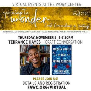 Craft Conversation with Terrance Hayes