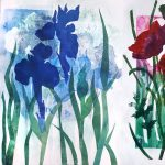 Printmaking Without a Press: Making Monoprints with a Gelli Plate