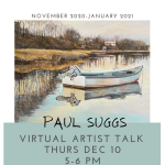 Virtual Artist Talk with Paul Suggs
