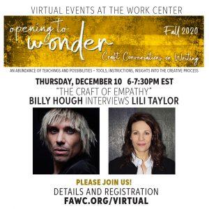 Billy Hough interviews Lili Taylor