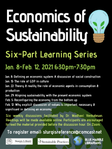 The Economics of Sustainability: A 6-part Learning...
