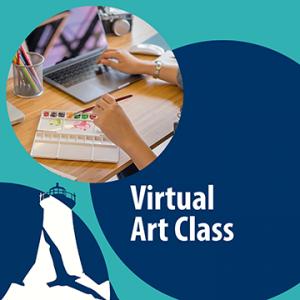 Virtual Art Class*Paste Paper & Collage