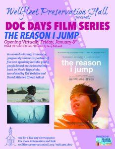 Doc Days Film Series: The Reason I Jump