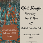 Virtual Artist Chat with Robert Shreefter