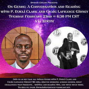 On Genre: A Conversation and Reading with P. Djeli...