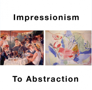 Impressionism - Mid-Century Abstraction; Art History Class with Pat Stark Feinstein on Zoom
