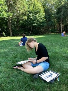 Summer Drawing & Watercolor for Tweens! with Alicia Buccino